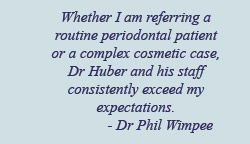Testimonial from dentist